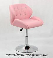Кресло парикмахерское HC-949N в стразах, фото 1