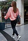 Женский свитер персиковый нарядный, р.42-48, вязка, фото 7
