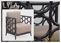 Комплект - Столик кофейный и кресло Lyla
