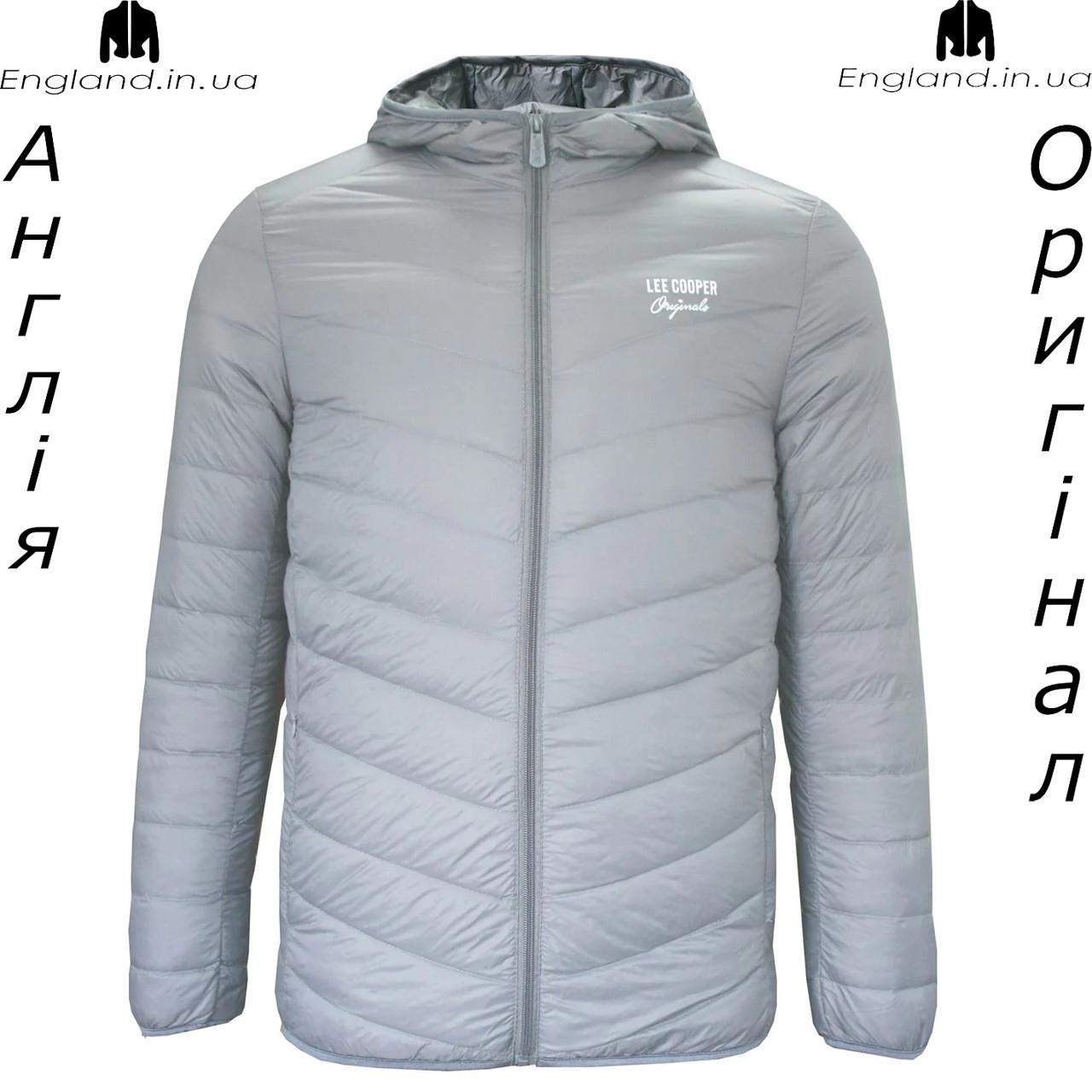 Куртка пуховик легкая мужская Lee Cooper из Англии демисезонная
