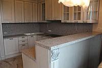 Кухонная столешница и барная стойка из искусственного кварцевого камня
