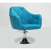 Кресло парихмахерское HC-830H на гидравлическом приводе Бирюзовый, бирюзовый