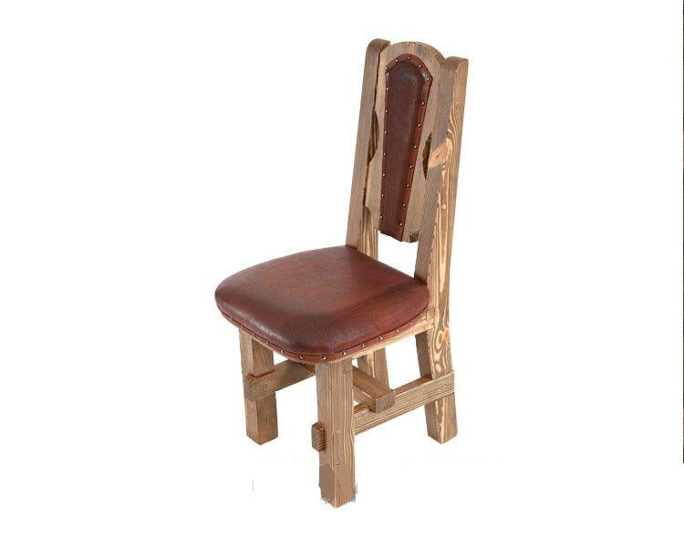 Стул деревянный, мягкое сиденье