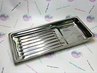 Staleks Лоток для стерилизации и хранения LE-10/1 размер из нержавеющей стали 195х90х19 мм