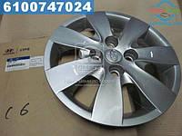 ⭐⭐⭐⭐⭐ Колпак колеса декоративный Hyundai Accent/verna 07-12 (пр-во Mobis)  529601E700
