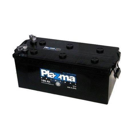 Plazma 6СТ-190 Original (690 62 22) Грузовой аккумулятор, фото 2