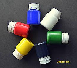 Набор акриловых красок для декора, Глянцевые, 6 цветов по 20 мл, ROSA TALENT
