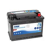 EXIDE 6СТ-74 АзЕ EN750 Start Тяговый аккумулятор