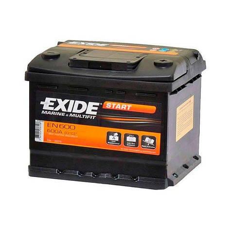 EXIDE 6СТ-62 АзЕ EN600 Start Тяговый аккумулятор, фото 2