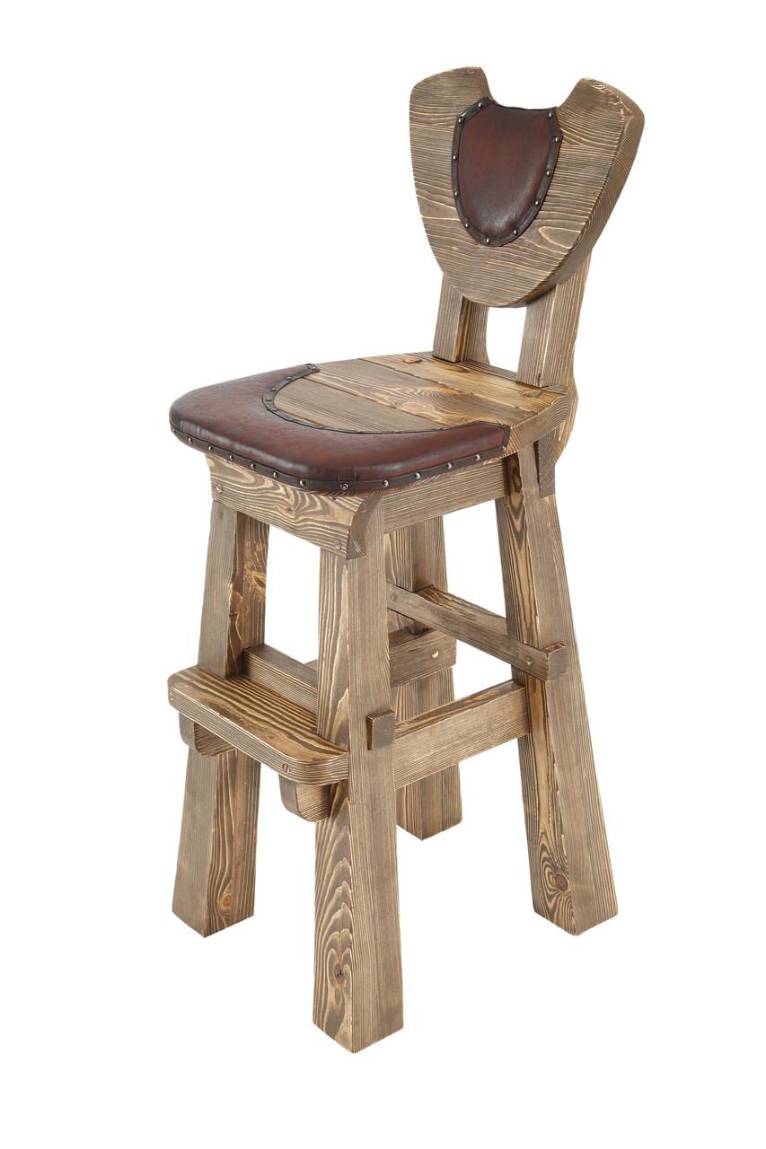 Барный стул деревянный