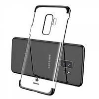 Пластиковый чехол BASEUS Glitter Series для Samsung Galaxy S9 Plus (G965) Black