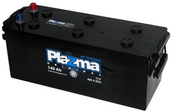 Plazma 6СТ-140 Аз Original 640 62 02 Грузовой аккумулятор