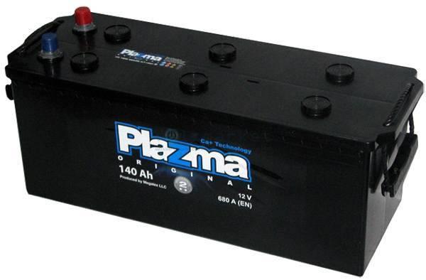 Plazma 6СТ-140 Аз Original 640 62 02 Грузовой аккумулятор, фото 2
