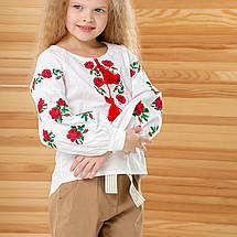 Вишиванка для дівчинки в стилі бохо Розочка, фото 2