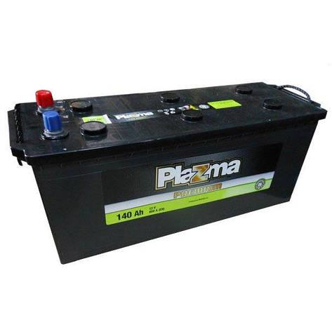 Plazma 6Ст-140 Аз Premium 640 64 02 Грузовой аккумулятор, фото 2