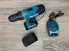Аккумуляторный Шуруповерт Макита DF 457 DWE Сборка Румыния (2 аккумулятора), фото 2