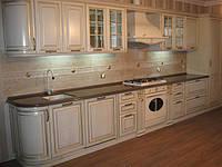 Изысканная кухонная столешница из кварца