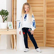 Блуза с вышивкой для девочки с стиле бохо Жарптица, фото 3