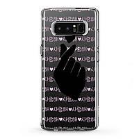 Чехол силиконовый для Samsung Galaxy (Korean Pop Music) J8/J7 Max/Core/Prime/Duo/V/J6 Plus/J4/J3 Pro/J2/J1 mini самсунг галакси джей плюс про 2018