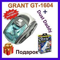 Пылесос GRANT GT-1604 3000 Watt Зеленый. Пылесос без мешка грант gt 1604 3000 ватт. Контейнерный