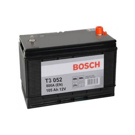 Bosch 6СТ-105 АзЕ 0 092 T30 520 Грузовой аккумулятор, фото 2