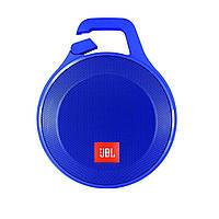 Портативная Блютуз колонка JBL Clip+ (Синяя)