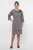 Платье женское Кантата вишня, фото 1