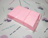 Салфетки безворсовые 1000шт розовые (твердые)