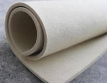 Белый войлок т. 3, 4, 5, 6, 8 10, 11, 12, 13, 14,15, 16, 20, 24,25, 26 мм шириной 1700-2000мм