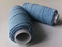 Нитка-резинка голубая