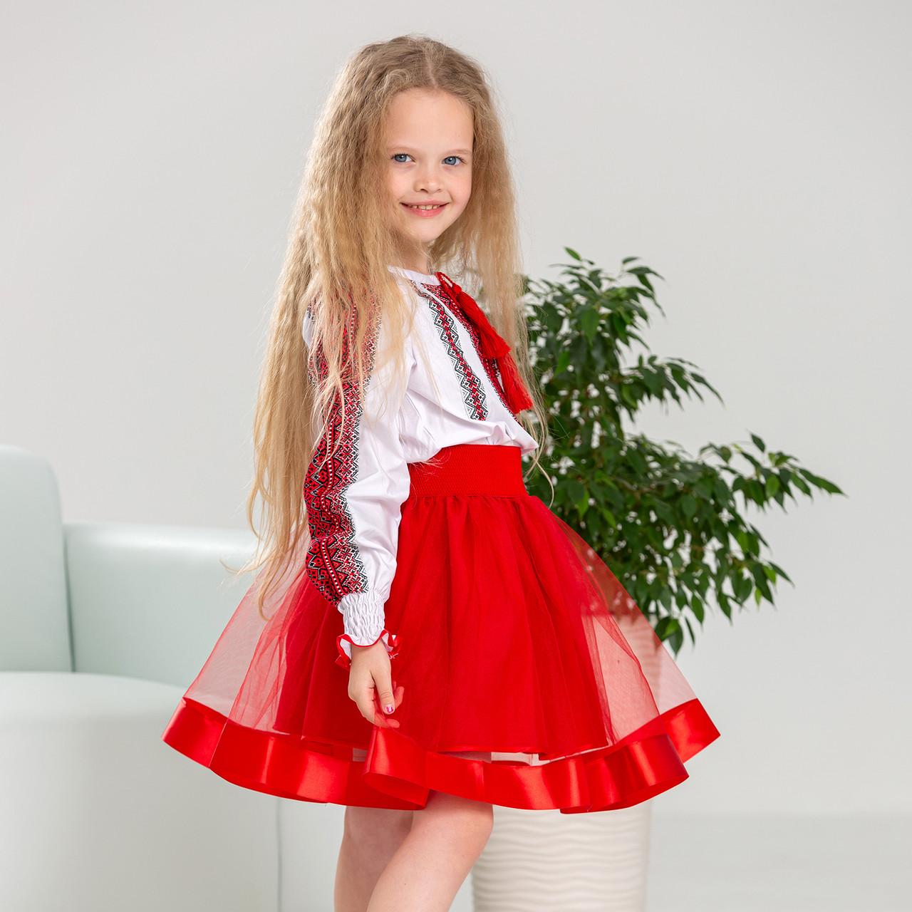 Дитяча пишна  спідниця для дівчинки