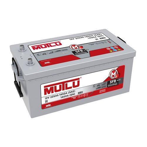 MUTLU 6СТ-225 Аз 1D6.225.140.B  Грузовой аккумулятор