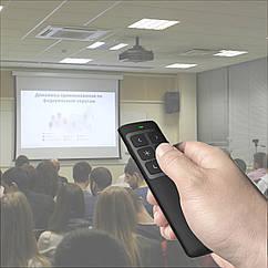 Презентатор для презентаций универсальный DS014. Презентер с лазерной указкой аккумулятрный