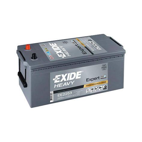 EXIDE 6СТ-225 Аз EXPERT HVR EE2253 Грузовой аккумулятор, фото 2