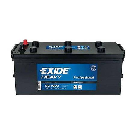 EXIDE 6СТ-180 Аз PROFESSIONAL EG1803 Грузовой аккумулятор, фото 2