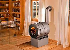 Технология установки дымохода для Булерьяна