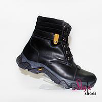Подростковые ботинки зимние с мехом