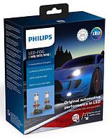 Комплект светодиодных LED ламп PHILIPS H8/H11/H16  X-TREMEULTINON + 250%