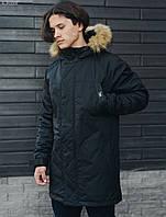 Зимняя парка Staff eco+ black