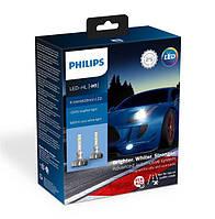 Комплект светодиодных LED ламп PHILIPS H1  X-TREMEULTINON +200%
