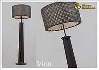 Лампа Vico с плетеным абажуром