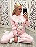 Флисовая теплая пижама женская Турция