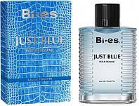 Туалетна вода для чоловіків Bi-es Just Blue Men Versace - Eau de Fraiche 100 мл (5902734841902)