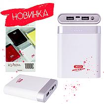 3 кольори/ Білий Power Bank XO PB39A 10000 mAh