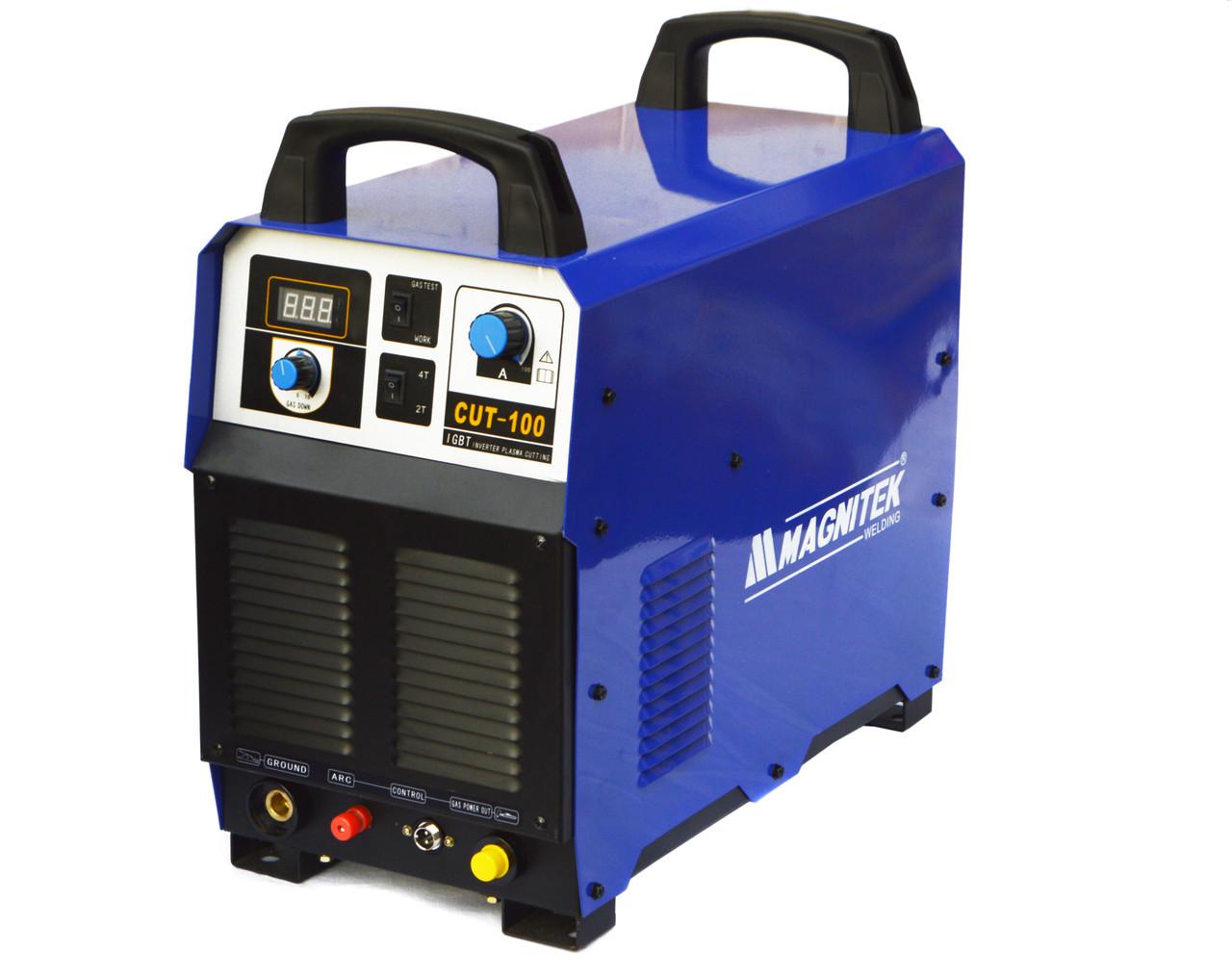 Плазморез промышленный MAGNITEK CUT-100 CNC 100% КПД (380V IGBT)