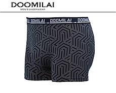 Мужские боксеры (батал) стрейчевые из бамбука  Марка  «DOOMILAI» Арт.D-01318, фото 3