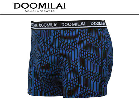 Мужские боксеры (батал) стрейчевые из бамбука  Марка  «DOOMILAI» Арт.D-01318, фото 2