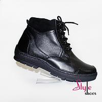 Шкіряні чоловічі черевики, фото 1