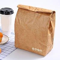 Термо пакет крафтовый для обедов