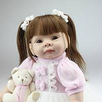 Кукла реборн 55 см девочка Лиза